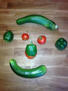 Gemüseausbeute