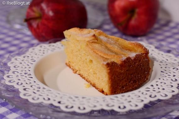 Apfelkuchen mit dem Hermann-Teig