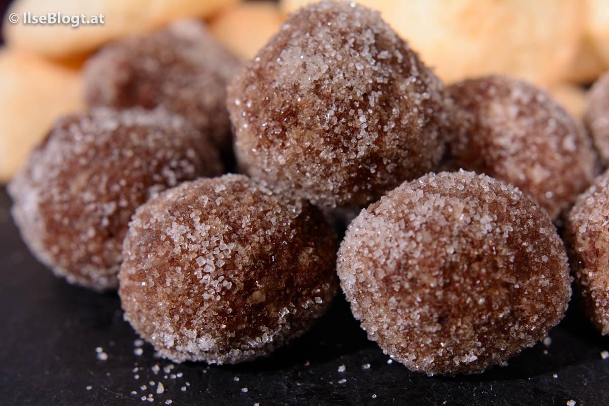 Schokolade- oder Rumkugeln - Ilse Blogt